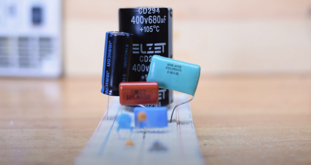 Measuring the Capacitance in Resistance Mode