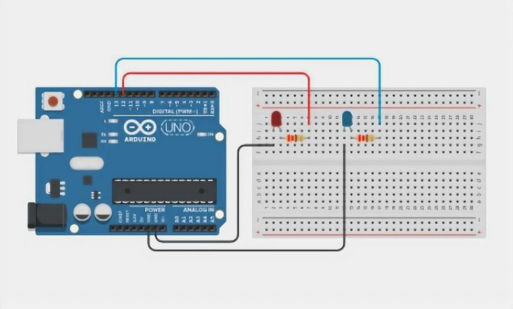 Connecting Multiple LEDs to Arduino