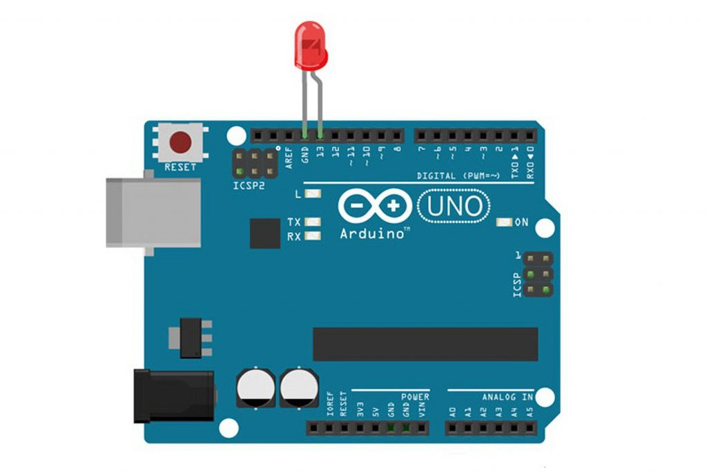 Connecting Scheme to the Board Arduino Nano or Uno
