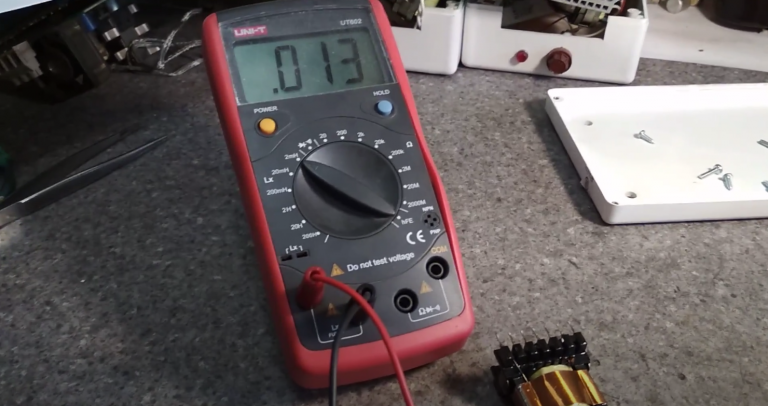 How to Test a Transformer with a Multimeter