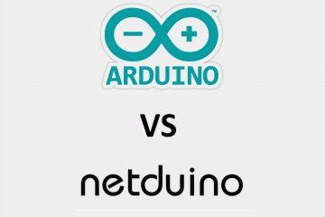 Arduino vs. Netduino