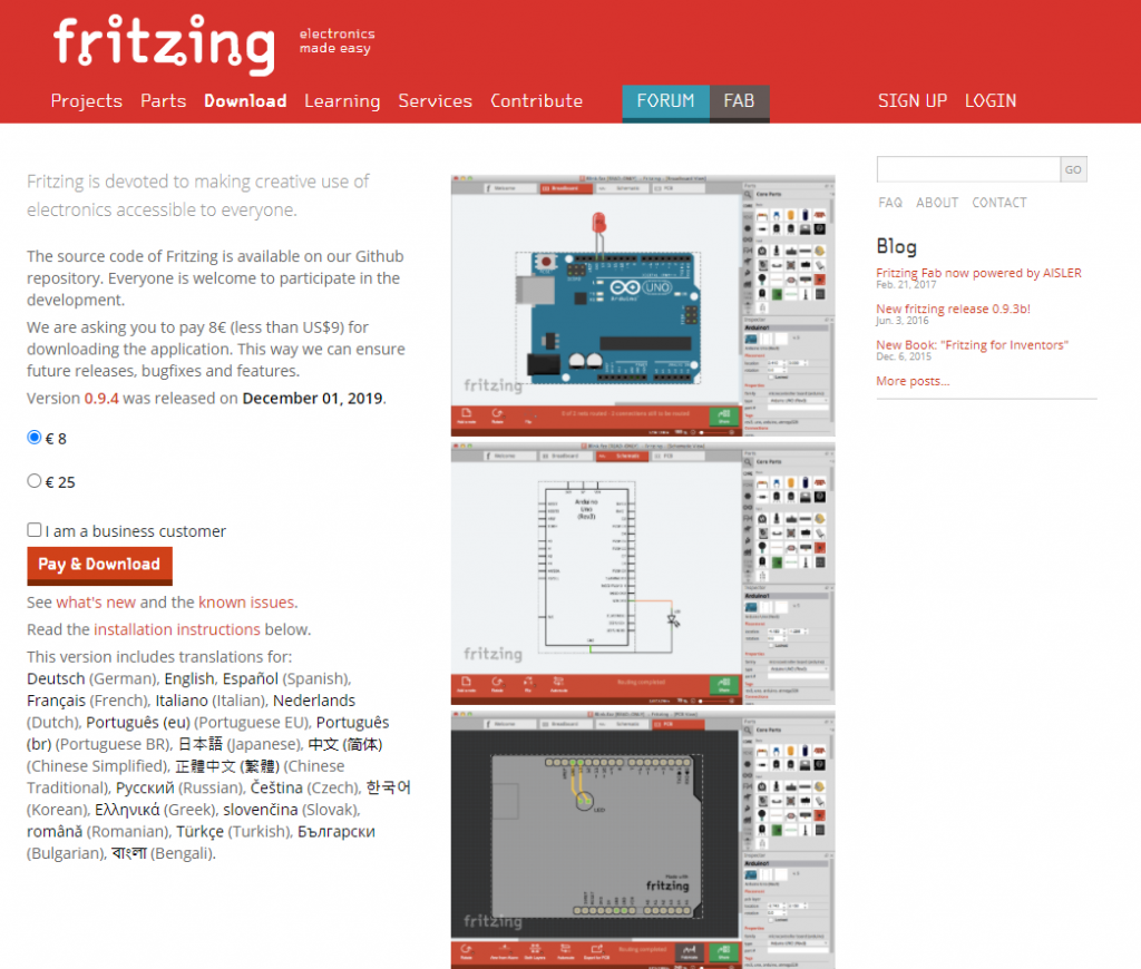 Download Fritzing