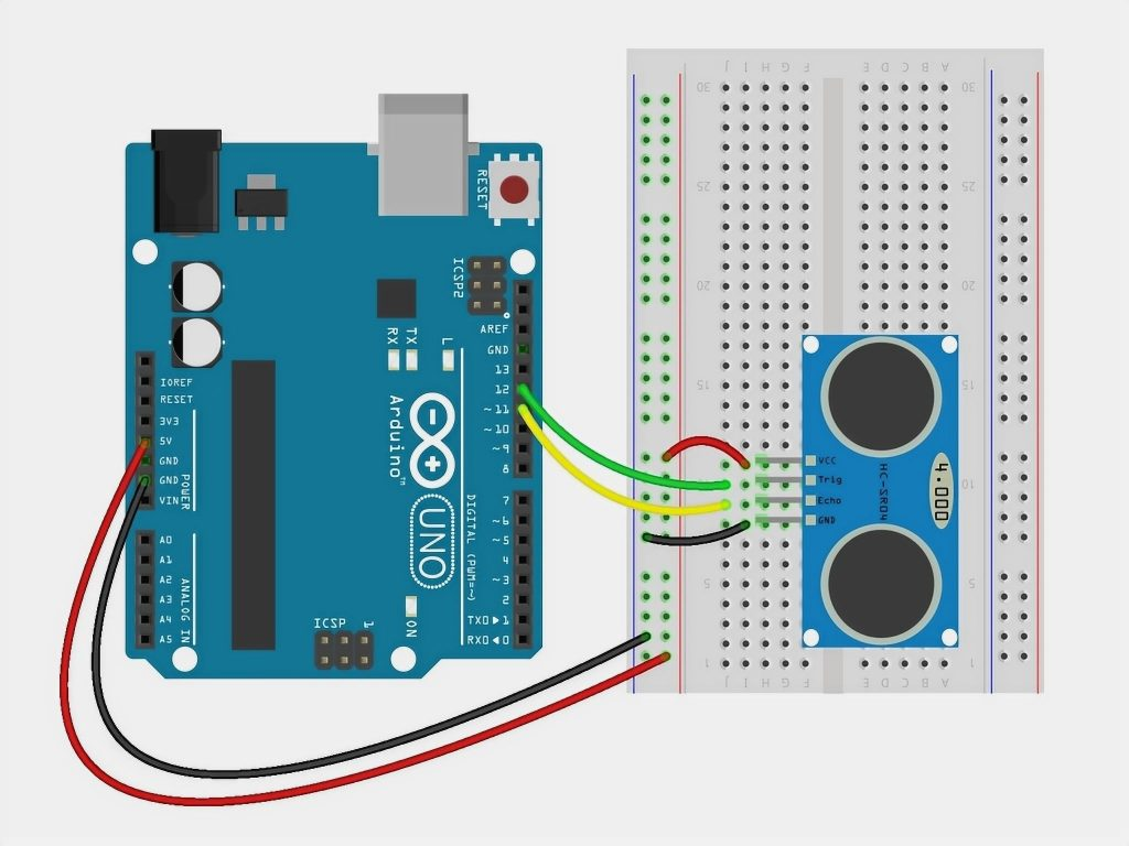 Connect the ground pin to the GND pin on the Arduino board