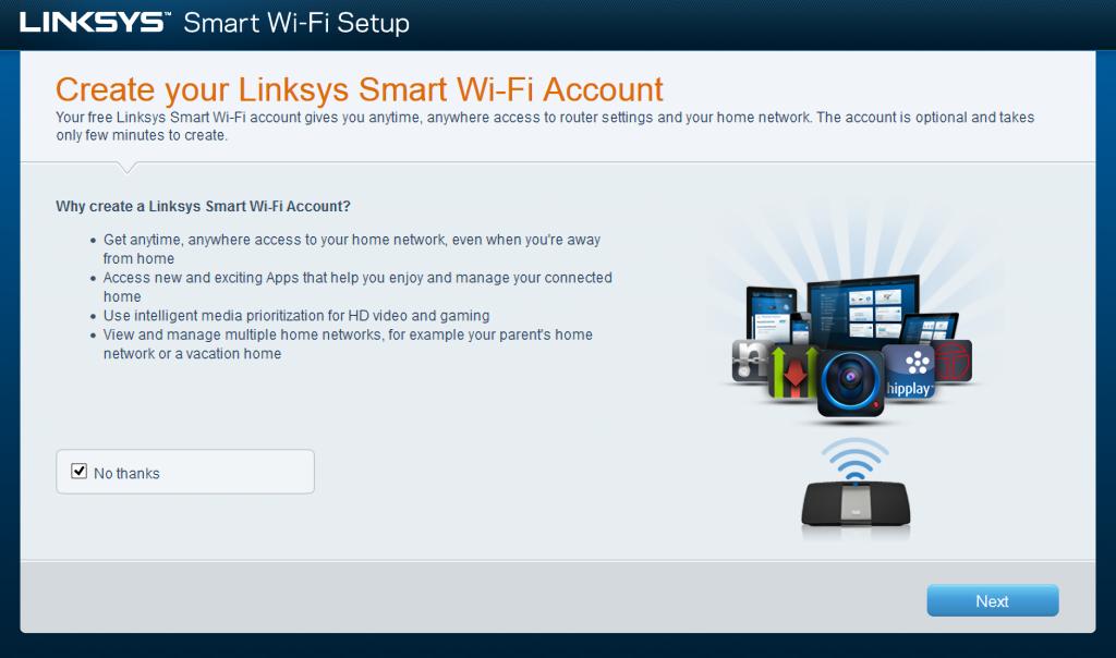Linksys EA6300 Smart Wi-Fi Setup