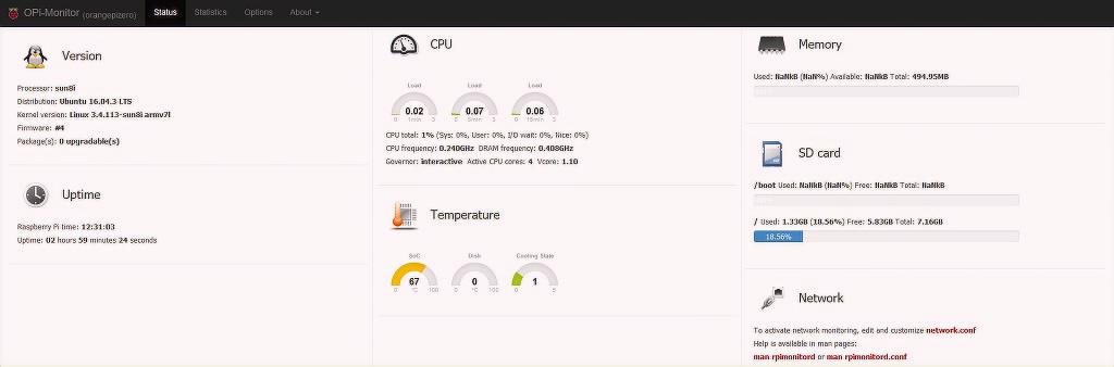 Installing OPI-Monitor