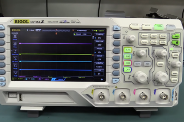 Rigol DS1054Z Digital Oscilloscope Review