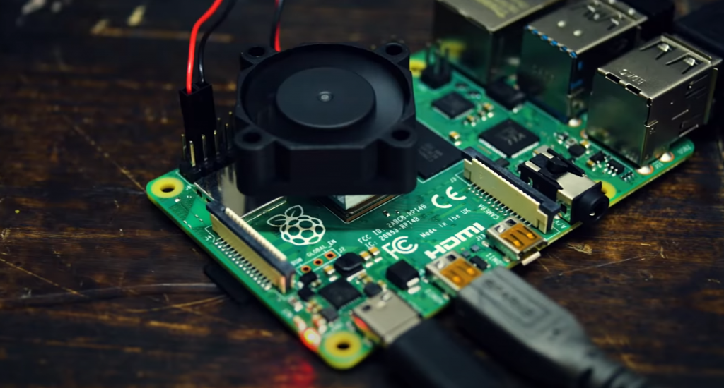 Connected Raspberry Pi