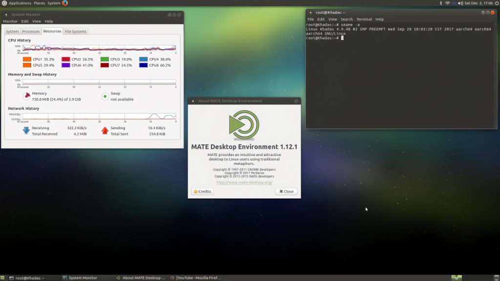 Ubuntu Mate and Khadas VIM2