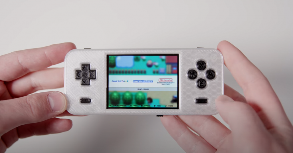 Raspberry Pi Zero Game Console