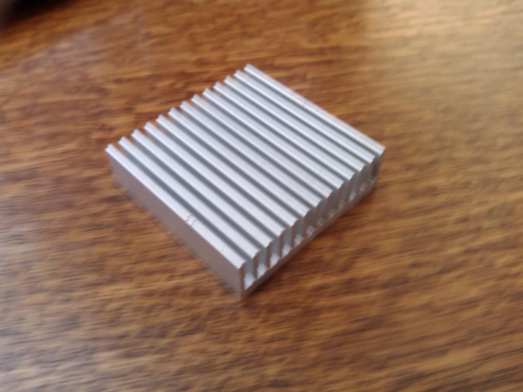 Radiator for Raspberry Pi DIY