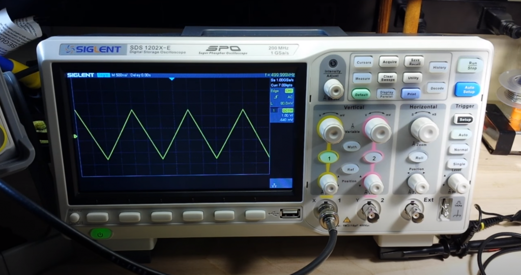 Siglent Technologies SDS1202X-E in my room