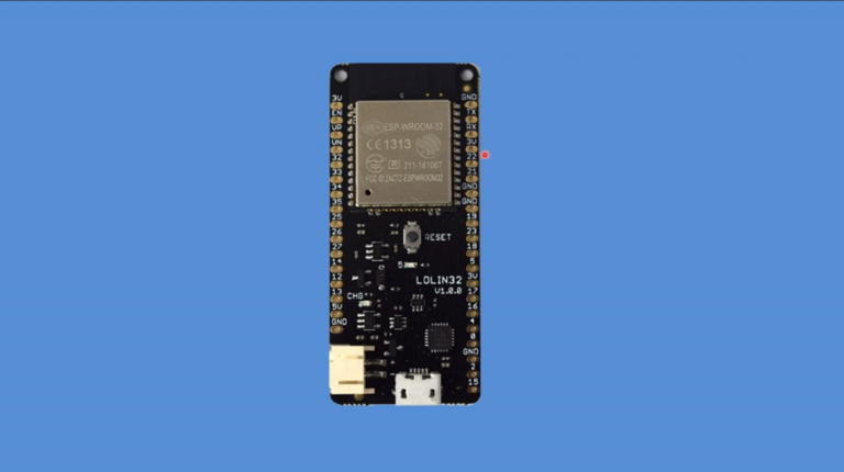 WeMos Lolin32 Review and Detailed Guide for Beginners