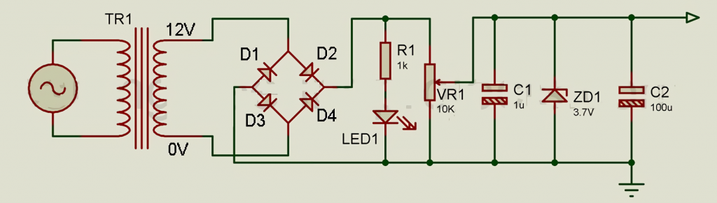 The circuit is elementary to understand